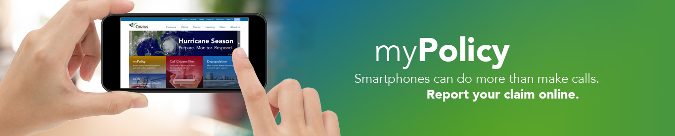 myPolicy: Use your cell phone to submit claims online