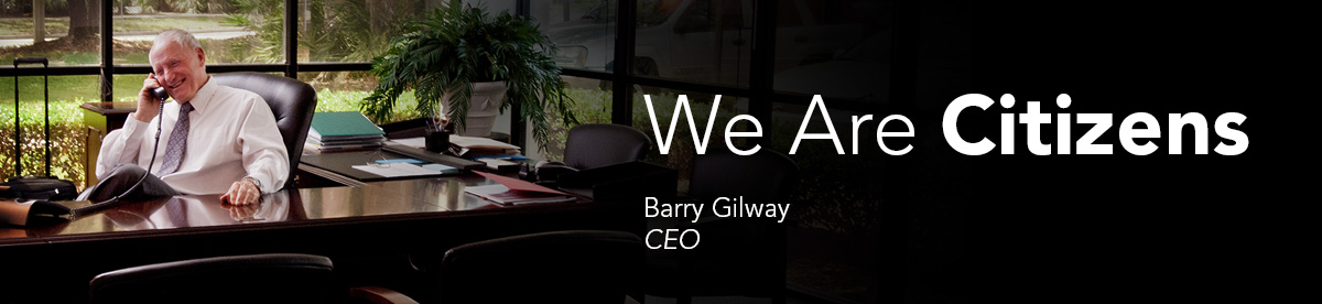 We Are Citizens: Barry Gilway, CEO
