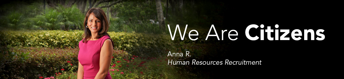 We Are Citizens: Anna R., Human Resources Recruitment