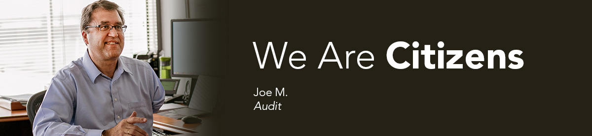 We Are Citizens: Joe M., Audit