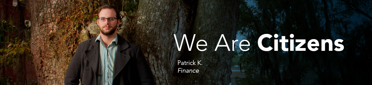 We Are Citizens: Patrick K., Finance