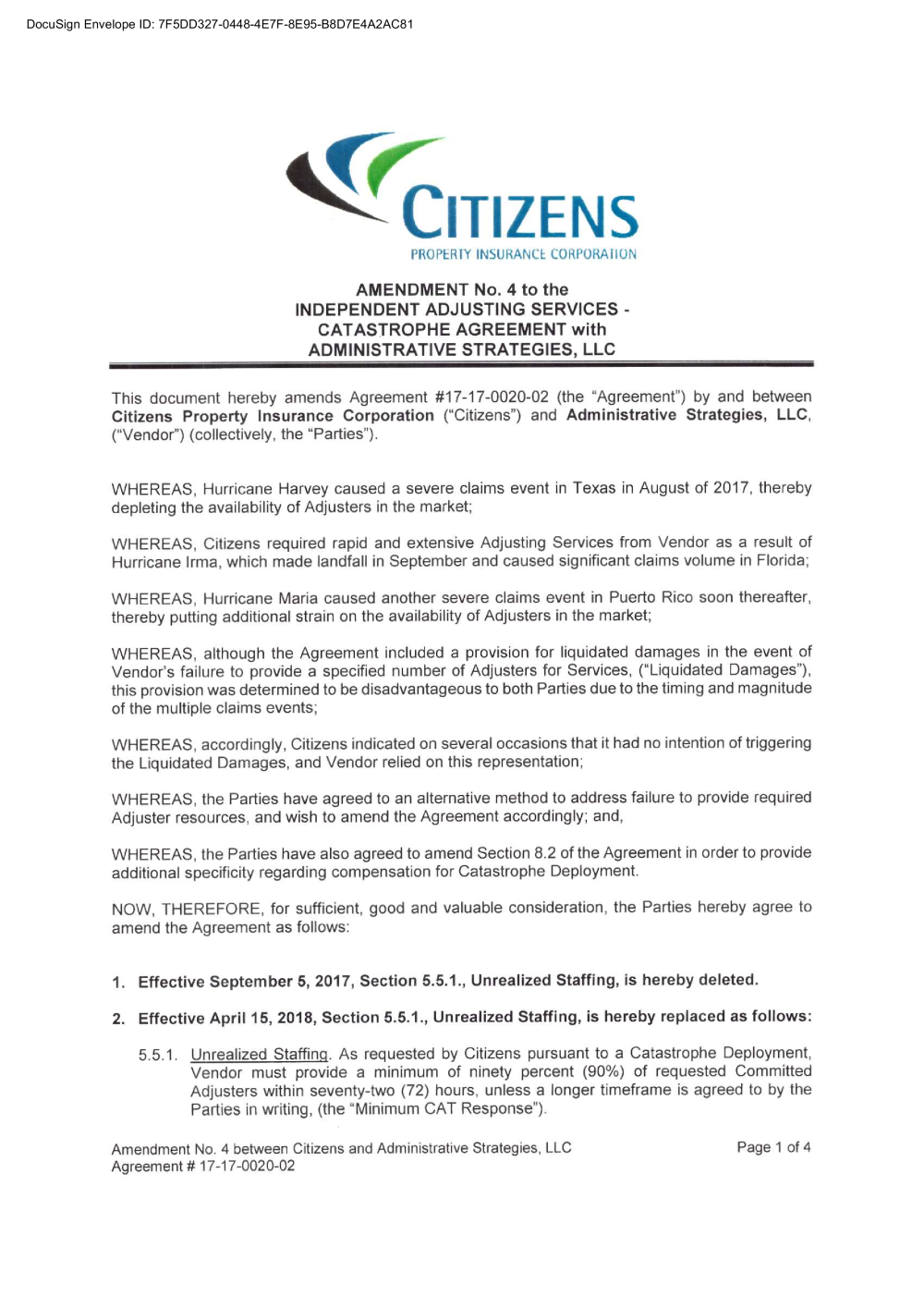 Amendment 4_1717002002 pdf - Contact Us - Citizens